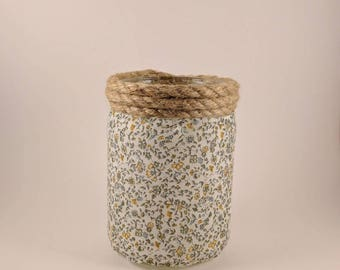 Cloth & Jute Jar