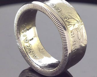 France 5 Francs Coin Ring (1959-2001)