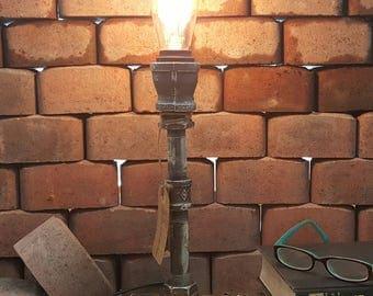 Industrial Light Fixture - Industrial Lamp - Steampunk Lighting - Urban Lighting - Rustic Lamp - Loft Lighting - Accent Lamp - Bedside Lamp