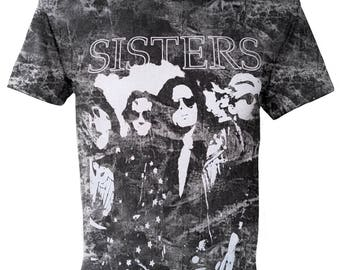 SISTERS Rock Stone Washed T-shirt E-173