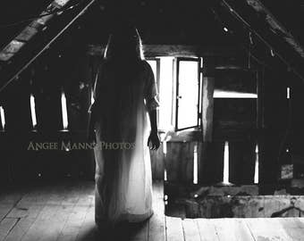 Dark Art Photograph, Surreal Art, Black and White, Haunting Photograph