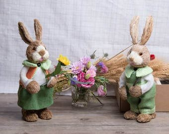 Artificial Easter Bunny Rabbit