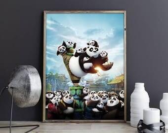 Kung Fu Panda Art Kung Fu Panda Poster Kung Fu Panda Print Kung Fu Panda Photo Master Po Ping Dragon Warrior Art Po Ping Poster Po Print