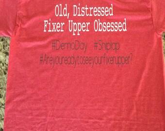 Fixer Upper short sleeve tee shirt