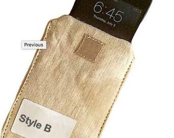 Organic Hemp iPhone Case