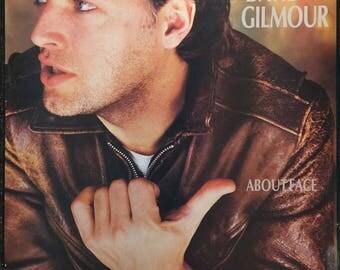 David Gilmour framed vinyl - About Face 1984