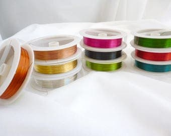 0.3 mm At choose Fine Brass Jewelry Wire / WIRES / Fine Brass /Choose your color