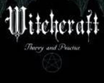 WITCHCRAFT Theory and Practice Book - Ly De Angeles - FREE POSTAGE Australia Wide