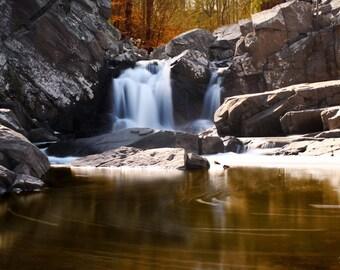 Scotts Run Waterfall