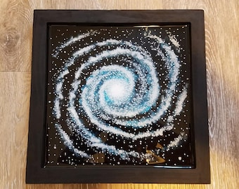 3D Resin Painting - Galaxy #7 - 12 x 12 Inch