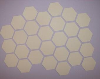 Hexagon templates 3/4 inch