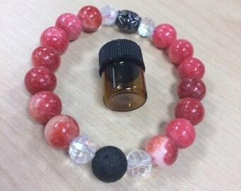 Rockin Pink diffuser bracelet.