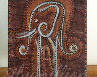 ELEPHANT acrylic mini image
