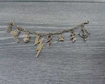 Percy Jackson Charm Bracelet