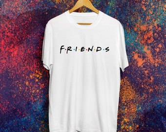 Friends show shirt Friends tv show gift Best friends day Best friend gift Best friends shirt Tumblr shirt 90s grunge Best friends forever