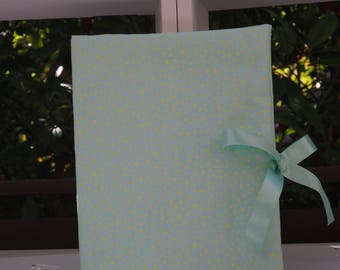 Health booklet protection cover crazy lace Mint Green