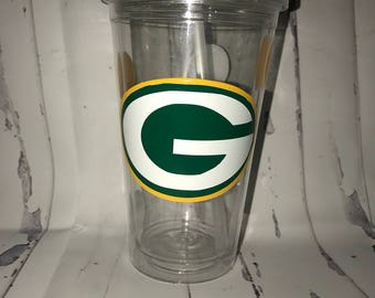 Personalized greenbay parkers tumbler