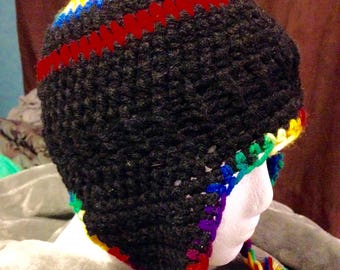 Handmade Crochet Ear Flap Beanies