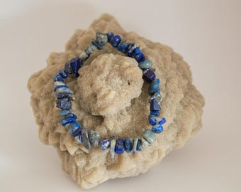 Lapis Lazuli Chips bracelet