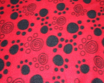 Black fleece fabric etsy for Celestial fleece fabric