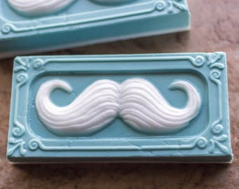Mustache Mens Soap scented with Essential Oils
