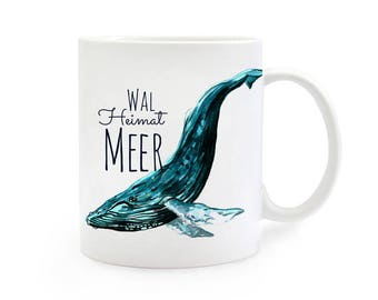 Gift Cup whale home sea TS236 home