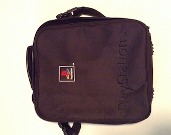 Vintage PlayStation 1 Carrying Bag for Console
