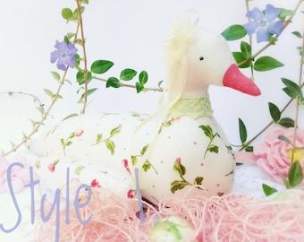 Easter Stuffed Animal Easter Gift Easter basket Easter Ragdoll Easter bucket Easter decor Easter Bunny Soft toy Easter Tilda Handmade gift