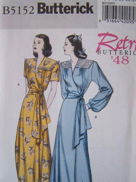 Butterick Patterns B5152 Misses' Robe and Belt, Size F5 (16-18-20-22-24) uncut