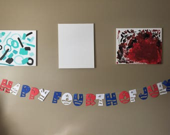 Fourth of July Banner-Free Shipping