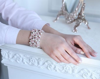 fancy handmade bracelet