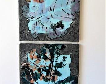 Original Abstract Painting-Modern Wall Art-Home Decor-Fine Art-Ceramic Tile Art