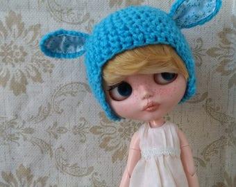 """Blythe Hat """"Bluebunny"""""""