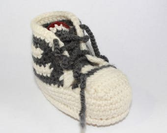 Crochet Baby Tennis Shoes