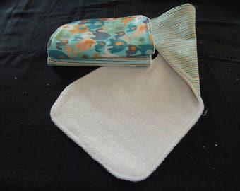 Baby Burp Cloth set of 3