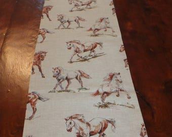 Wild Horses Table Runner