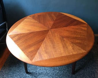 coffee table by Henry Walter Klein for Saran | Danish table | Mid century modern | 60s