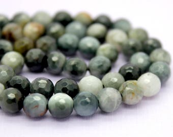 Hawk Eye Hawkeye Faceted Round Beads Natural Gemstone (4mm 6mm 8mm 10mm)