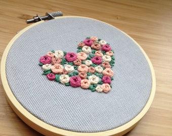 Rose Heart Hoop