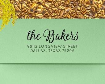 Address Stamp, Return Address Stamp, Custom Address Stamp, Personalized Stamp, Self Inking Address Stamp, Wedding Invitation - mf7