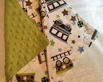 Minky LOVEY blanket for baby boy