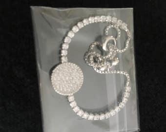 Cz Circle Bracelet