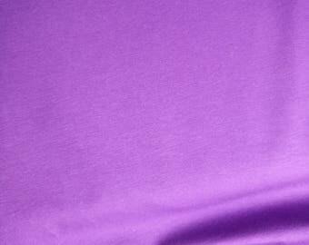 Purple solid jersey knit fabric, purple jersey, purple solid, purple knit fabric, purple plain fabric. Jersey, knit