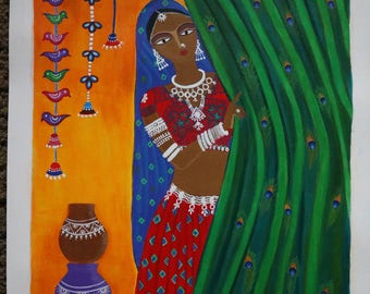 Indian tribal lady