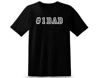 A #1DAD T-SHIRT