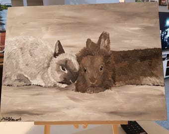 Hand Painted Pet Portraits