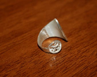 enamel ring silver 925