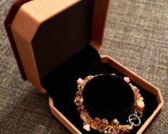 Glass Blossom Bracelet
