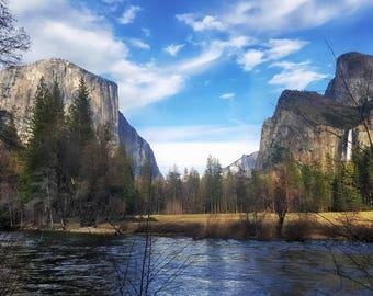Yosemite River Valley