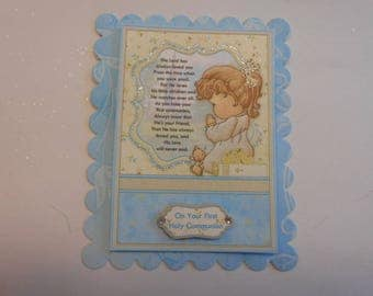 Pack 2 First Holy Communion Topper Embellishments for cards and crafts
